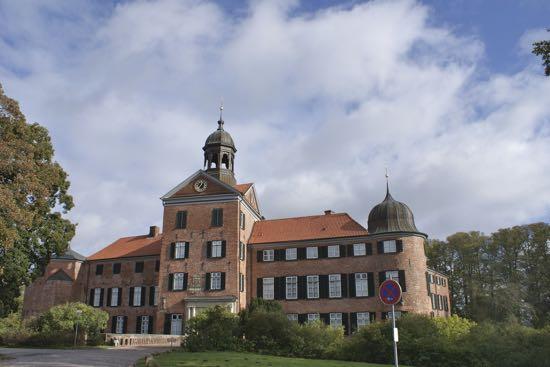 Slottet i Eutin i Tyskland