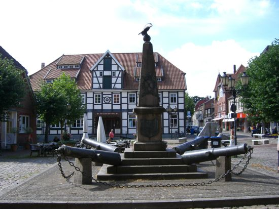 Bad Bevensen i Nordtyskland