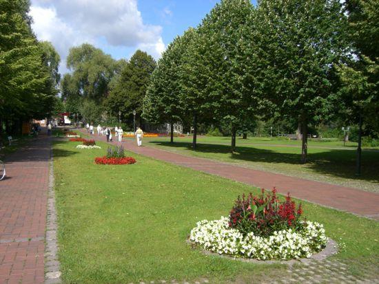Parken i Bad Bevensen