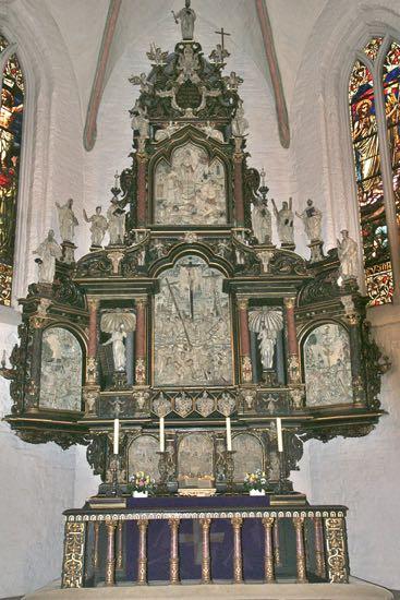 Alteret i Skt. Maria Kirke