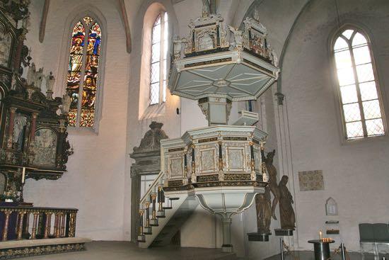Prædikestolen i Skt. Marien Kirke