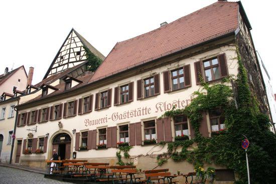 En af Bambergs restauranter