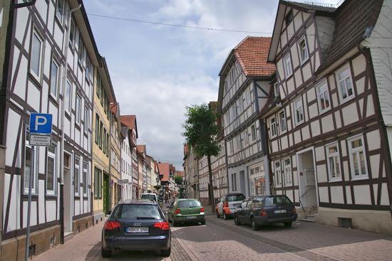 Witzenhausen i Tyskland