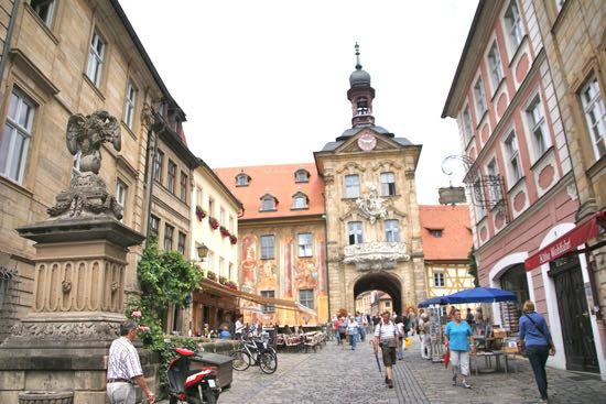 Bamberg i Tyskland