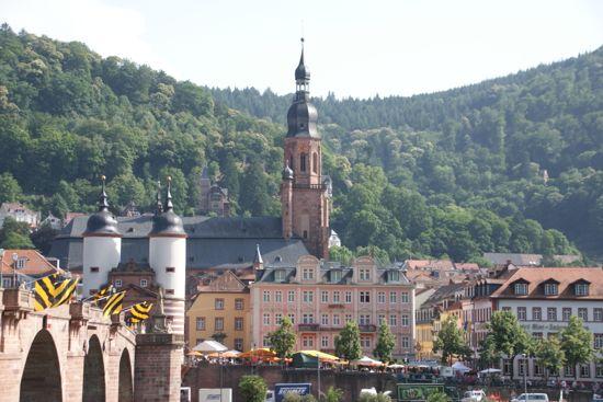 Heidelberg i Tyskland