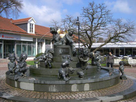 """Stor spændende """"Jungebrunnen"""""""