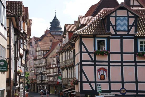 Hyggelige Hann.Münden i Tyskland