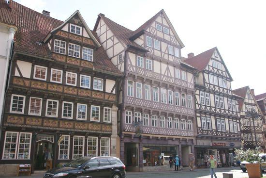 Bindingsværkshusene i Hann.Münden