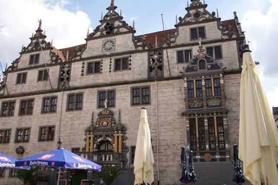 Hann.Münden rådhus i Tyskland