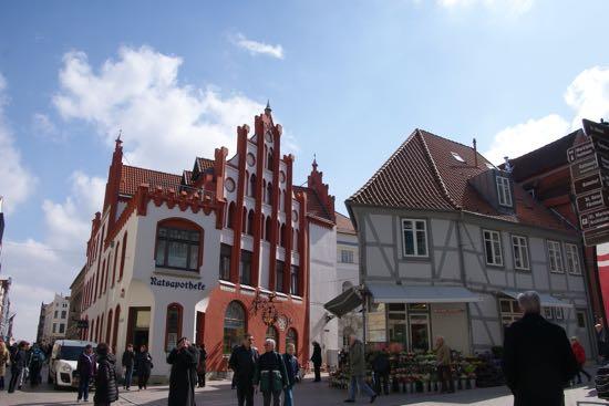 Det gamle apotek i Wismar