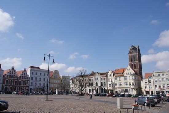 Markedspladsen i Wismar