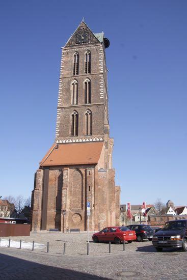 St. Marienkirche i Wismar