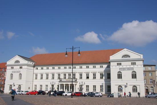 Wismar rådhus i Tyskland