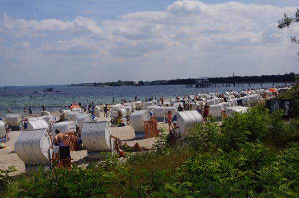 Timmendorfer Strand i Schleswig-Holstein