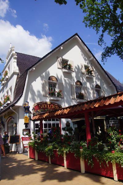 En af Timmendorfer Strands hyggelig restauranter