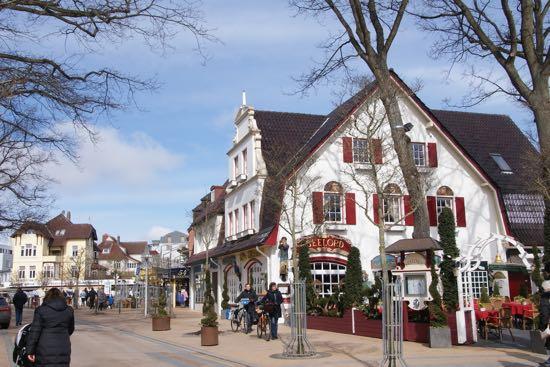 En af Timmendorfer strands hyggelige restauranter