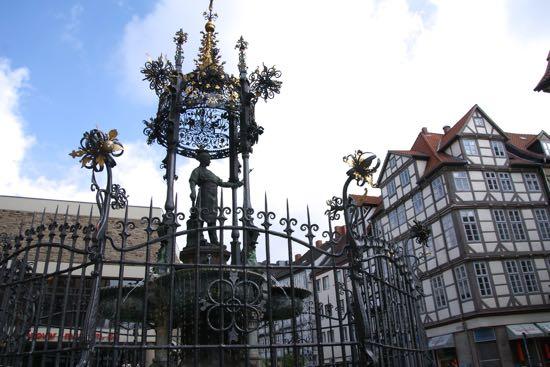 Bindingsværkshuse i Hannover