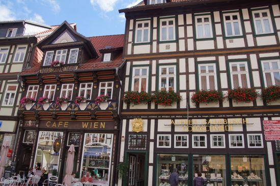 Cafe Wien i Wernigerode