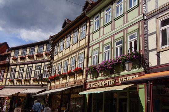 Spændende træ hus i Wernigerode