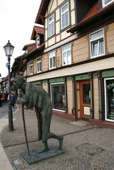 "Jo Jastram skulptur ""The Rest"" i Wernigerode"