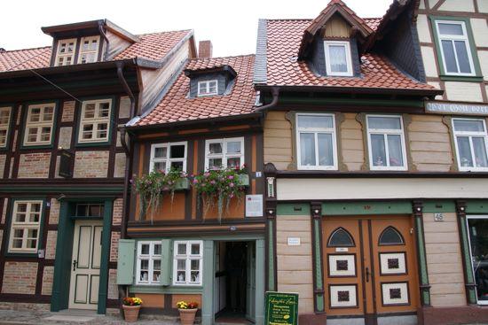Wernigerodes mindste hus