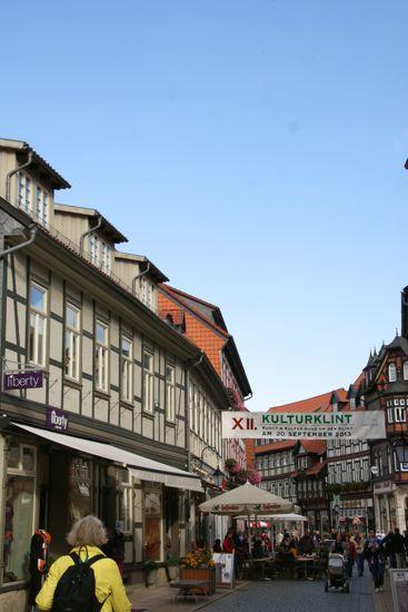 Gågaden i Wernigerode