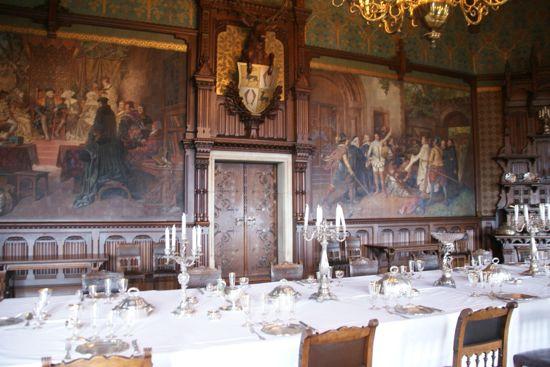 Festsalen på slottet i Wernigerode
