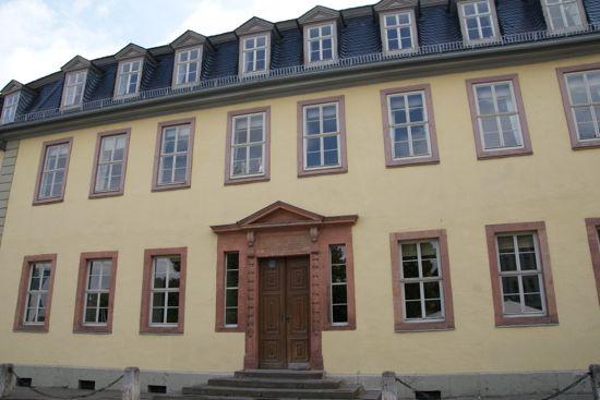 Goethe House i Weimar