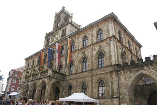 Weimar rådhus i Tyskland