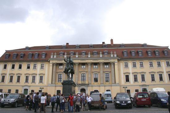 Anna Amalia´s bibliotek i Weimar