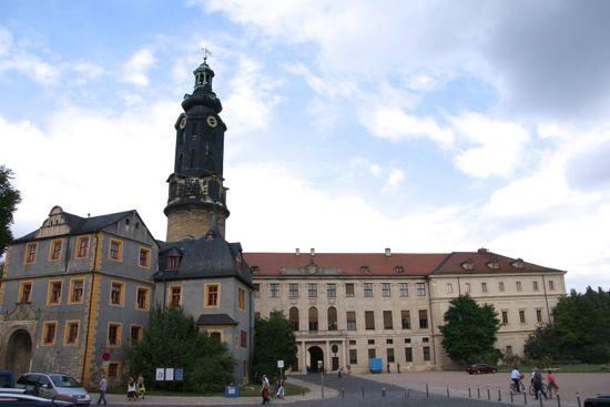 Slottet i Weimar