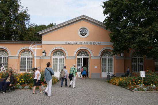 Bauhaus museum i Weimar