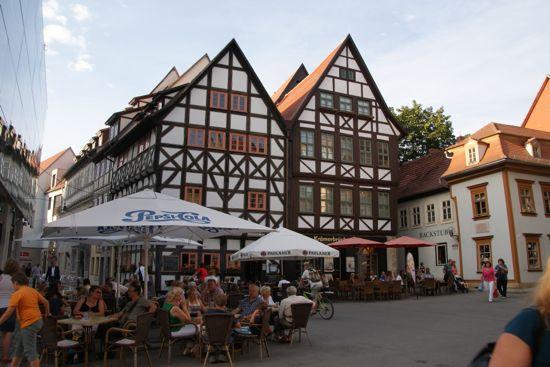 St. Benedicte plads i Erfurt