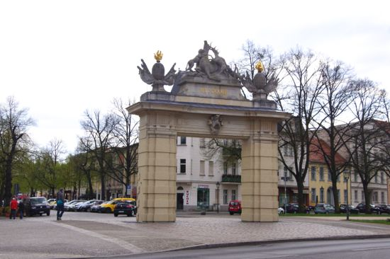 Byporten Jägertor i Potsdam