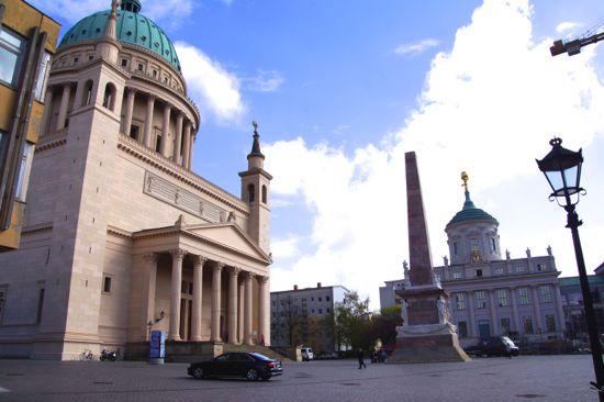 St. Nicholas Kirke i Potsdam