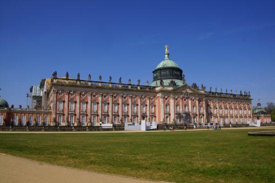 Byen Potsdam i Tyskland