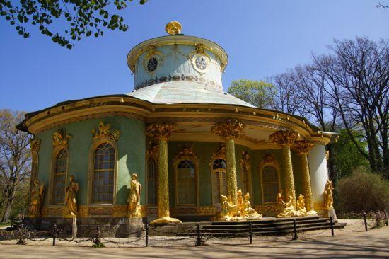 The hus i Sanssouci slotspark