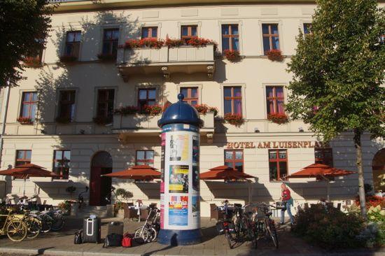 Hotel Am Luisenplatz i Potsdam