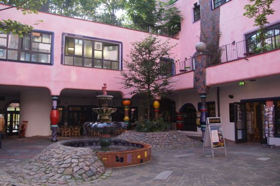 Hundertwasser Haus i Magdeburg