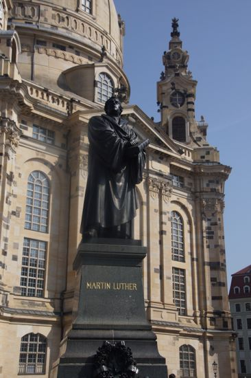 Fraunkirche Martin Luther