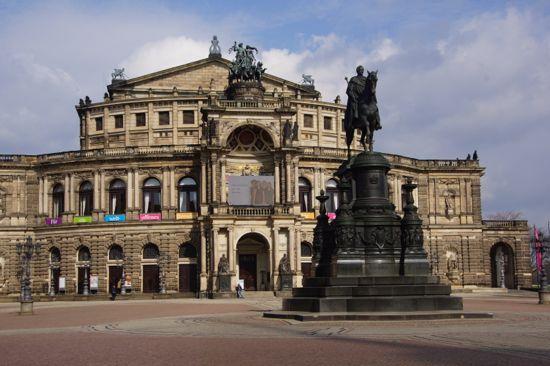 Semperoera i Dresden
