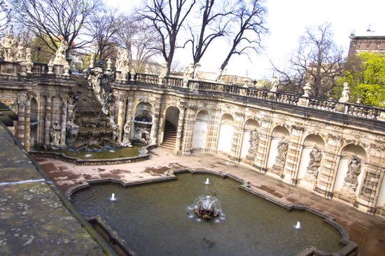 Nymfenbadet ved slottet Zwinger