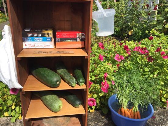 Salg af grønsager i Arnis