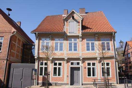 Bindingsværkshus i Lauenborg