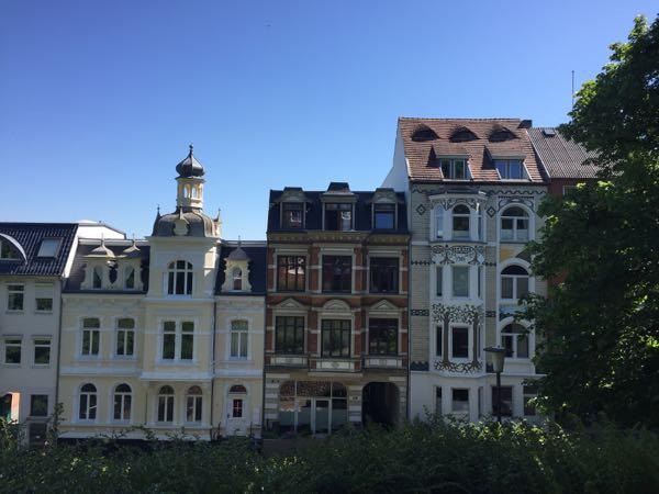Gamle smukke huse i Flensborg