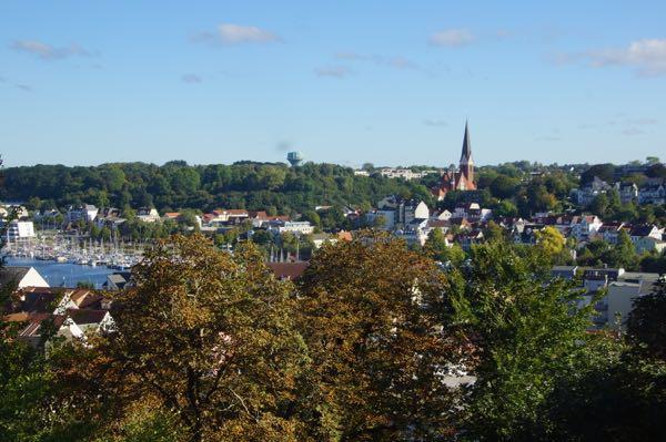 Udsigt ud over Flensborg
