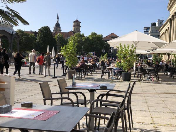 Hyggelige restauranter i Stuttgart