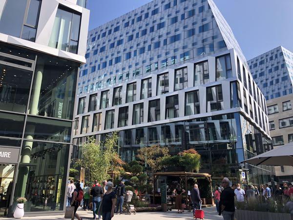 Moderne bydel i Stuttgart