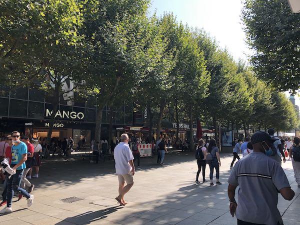 Shoppinggaden Königstrasse i Stuttgart